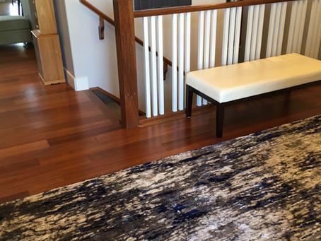 How to Clean an Area Rug on Hardwood Floors | Oaktree Carpets & Flooring