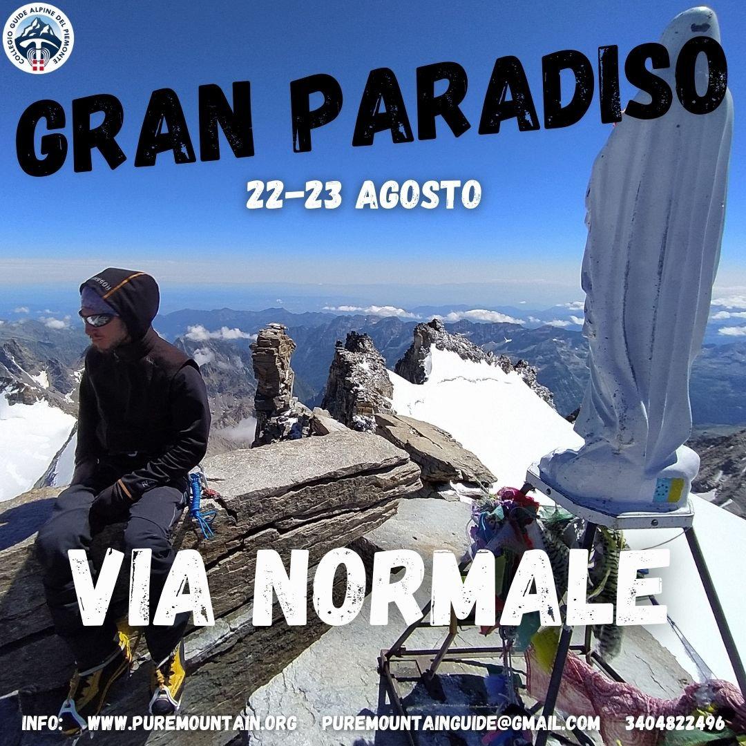 Gran Paradiso via Normale