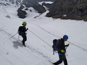 AlpinisTeam: primi passi sui ramponi