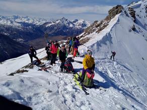 """Ciclo Scialpinismo """"primi passi"""" - Passo san Giacomo da Sestriere"""