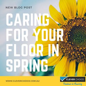 Guide to caring for your floor during spring