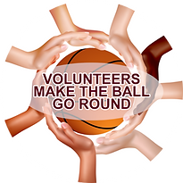 Bundy Basketball Volunteers make the bal