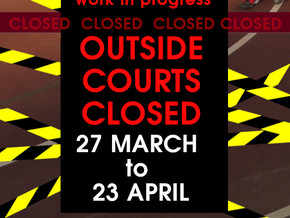COURT 3 - CLOSED FOR THE HOLIDAYS
