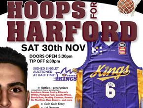 Signed Kings Singlet @ HOOPS for HARFORD