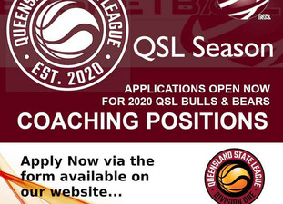 QSL 2020 - Coaches Wanted