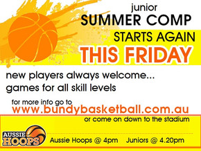 Junior Summer Comp back on Friday!