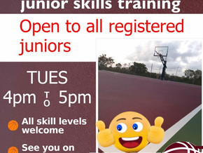 JUNIOR SKILLS SESSIONS