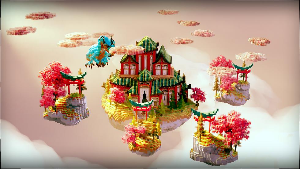 Oriental Sky Block Spawn