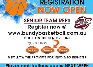 Senior Team Registrations OPEN