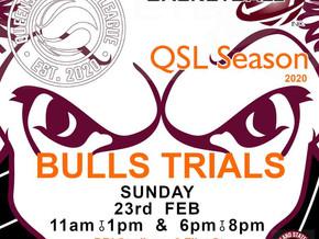 QSL BULLS TRIALS