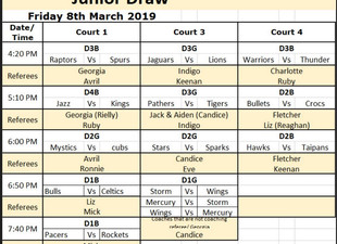 Junior Draw & Info