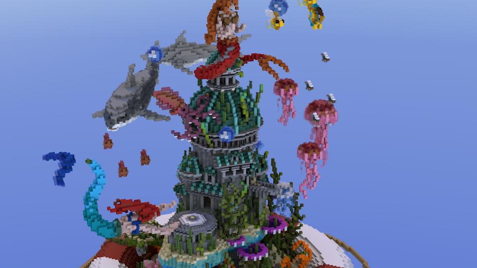 Mermaid Kingdom Hub