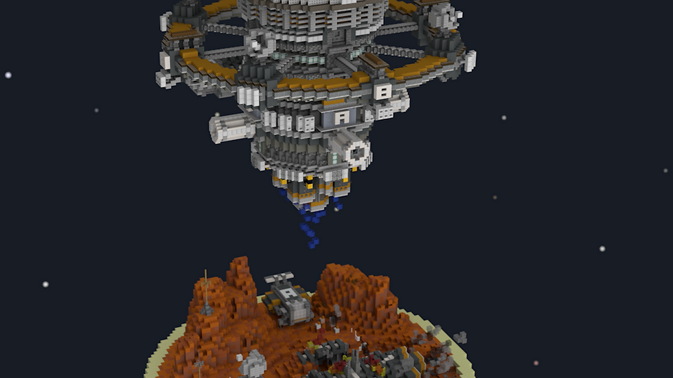 Alien Expedition Lobby