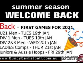 Summer Season Starting Soon!