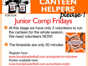Friday Canteen Helpers