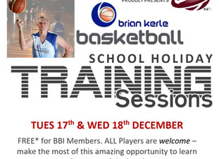 Brian Kerle School Holiday Clinics