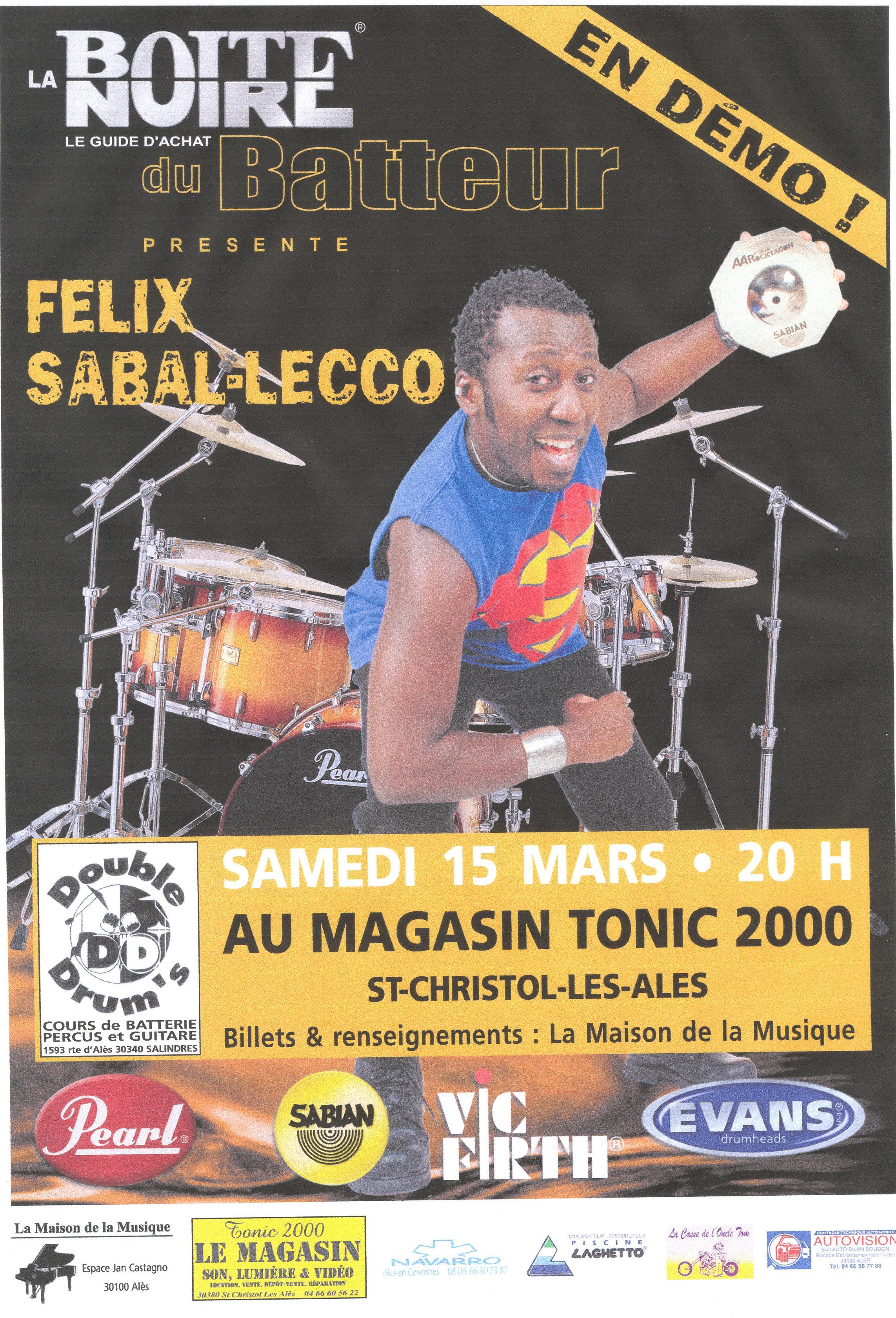 Félix Sabal Lecco 2003