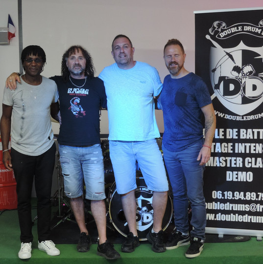 Mr Matt Métal , Alain, Laurent et Franck