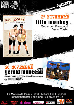 13  FILLS MONKEY GERALD MANCEAU