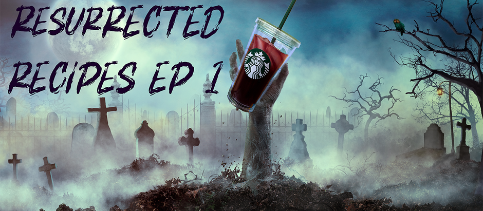 Resurrected Recipes Ep. 1: Starbucks Blueberry Black Tea Lemonade
