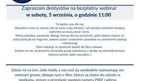Drugi webinar dla dentystów