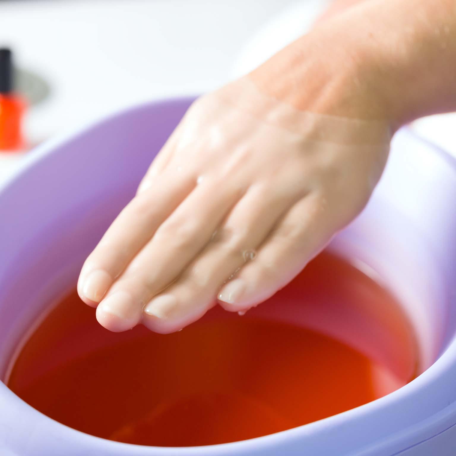 Paraffin Treatment Hands