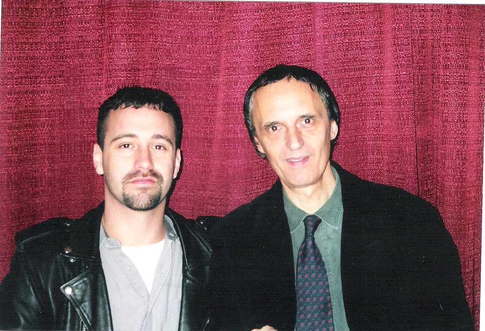 My favorite cult director, Dario Argento at a Fangoria Weekend of Horrors in New York!
