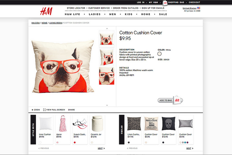 H&M HOME, SWEDEN