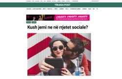 Tirana Post, Albania