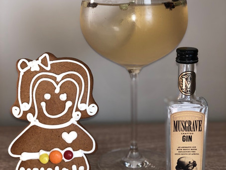 Musgrave Gin and Gingerbread Golden Glory