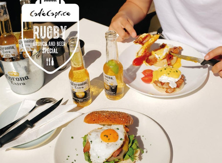 Café Caprice Brunch & Beer Special to Support the Springboks