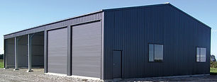 combination bay shed
