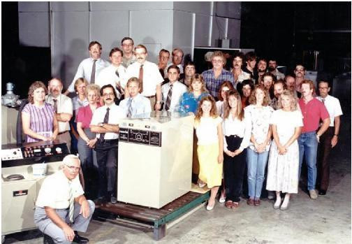 Bill Vallett and his team introduce the Power-Fin product line in 1986.