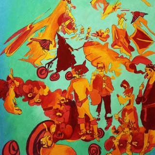 Pandemonium: Dog and Cat, 2012