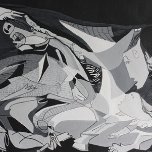 Distorted Guernica, 2010