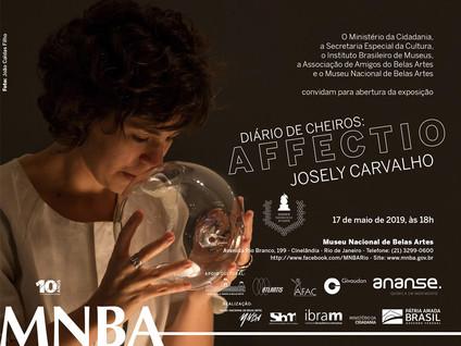 Abertura Diário de Cheiros: Affectio no Museu Nacional de Belas Artes