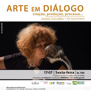 Arte em Diálogo - na quarentena | MNBA