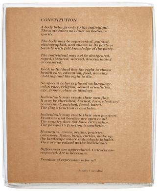 Meu corpo, meu país. 1990.