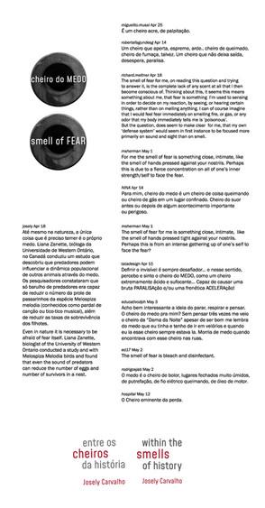 Respostas do Cheiro do Medo | Smell of Fear answers