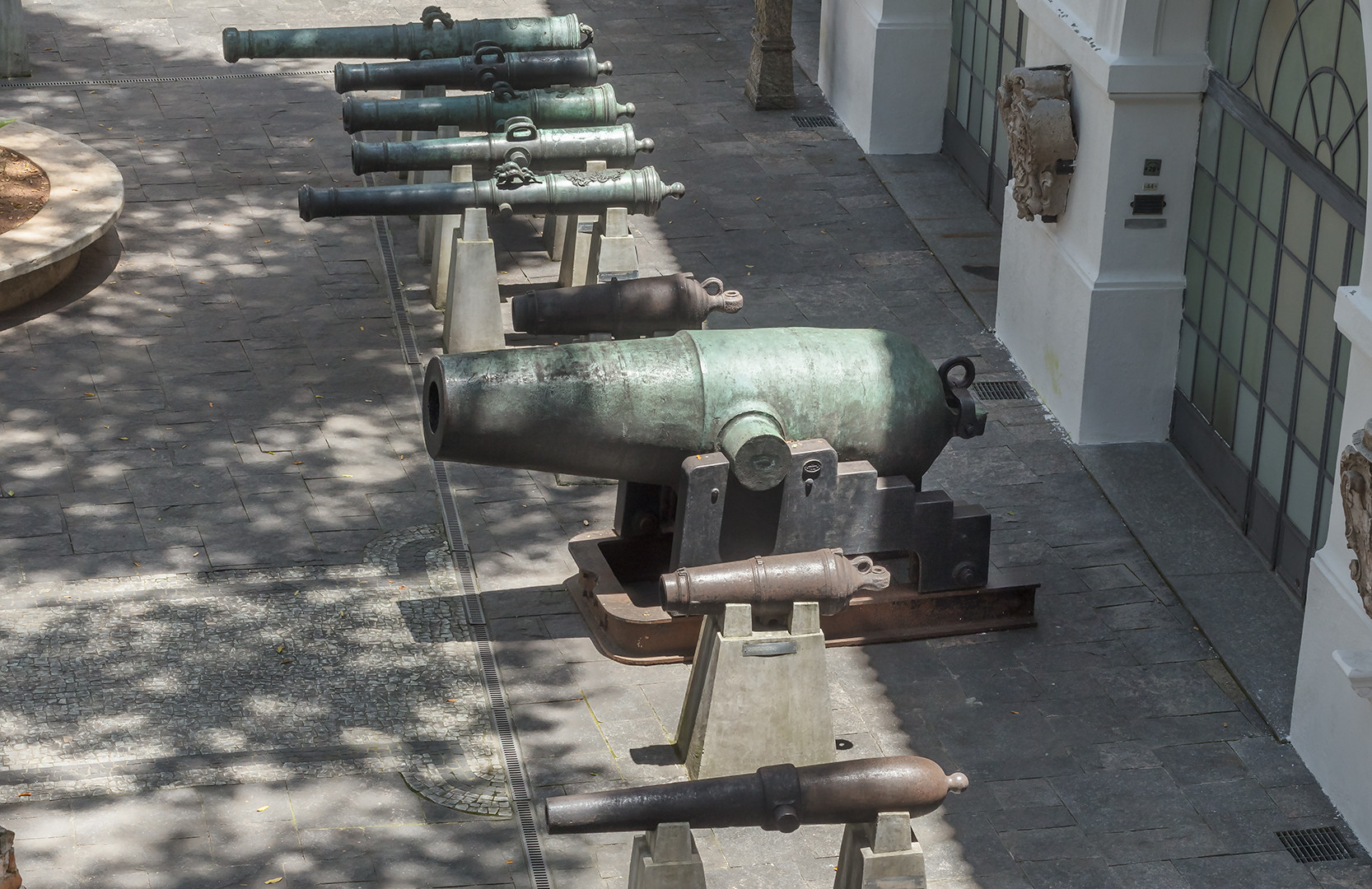 Garden of Cannons
