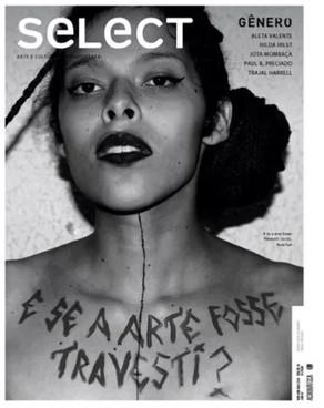 Matéria na Revista seLect #38   Article in seLect #38 art magazine