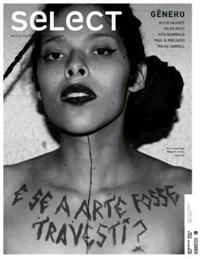 Matéria na Revista seLect #38 | Article in seLect #38 art magazine