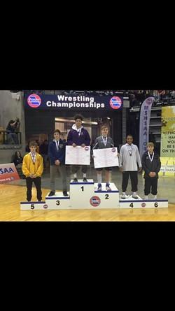 Josh Kyle 2018 State Medalist