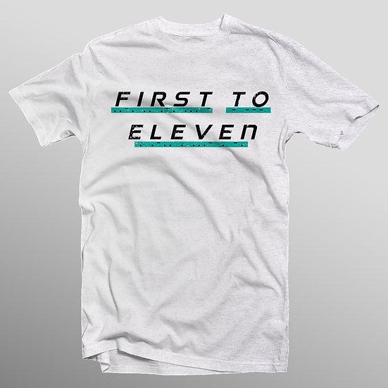 White Morse Code Logo T-Shirt