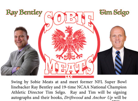 Sobie Meats hosting Ray Bentley and Tim Selgo for Book Signing