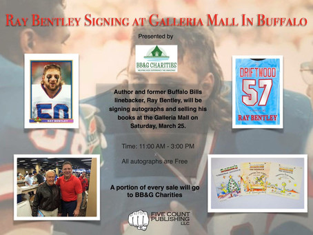 Former Buffalo Bill Ray Bentley Coming to Galleria Mall Saturday