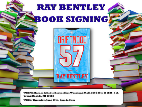 Book Signing with Ray Bentley at Barnes & Noble Woodland Mall