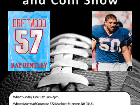 Keene, NH Sports Card Show to Host Ray Bentley