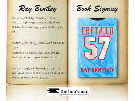 The Bookman in Grand Haven to host Ray Bentley for a Book Signing