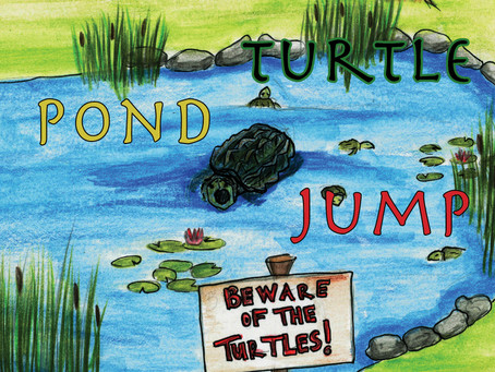 The Snapping Turtle Pond Jump now available in paperback and e-book